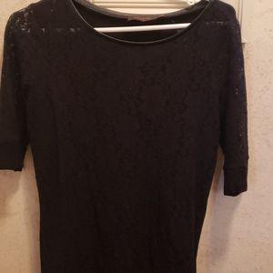 Lace tee shirt